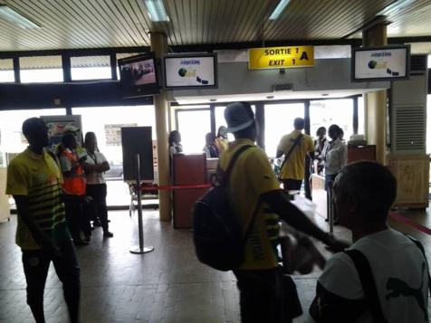CAN 2015: Les Lions débarquent nuitamment à Mongomo