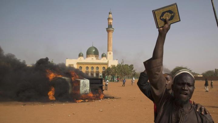 Manifestations anti-Charlie Hebdo au Niger: retour au calme à Niamey