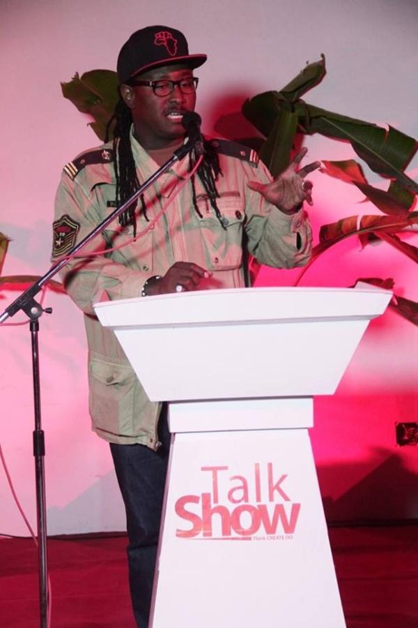 Didier Awadi au Talk Show/Think Create Do : « La guerre du contenu aura bien lieu »