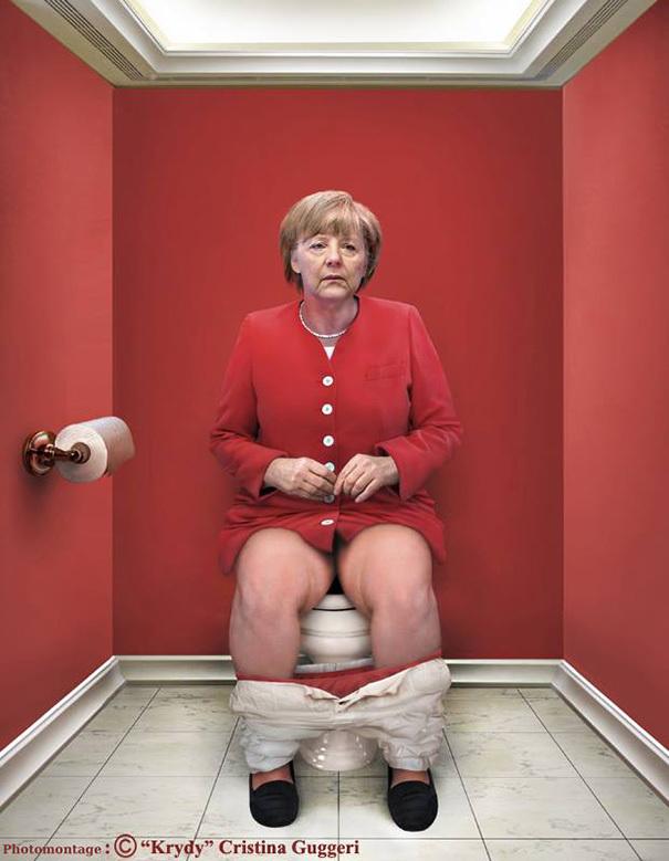 Les plus grands dirigeants de la planète comme vous ne les avez jamais vu ! La reine d'Angleterre, il fallait oser...