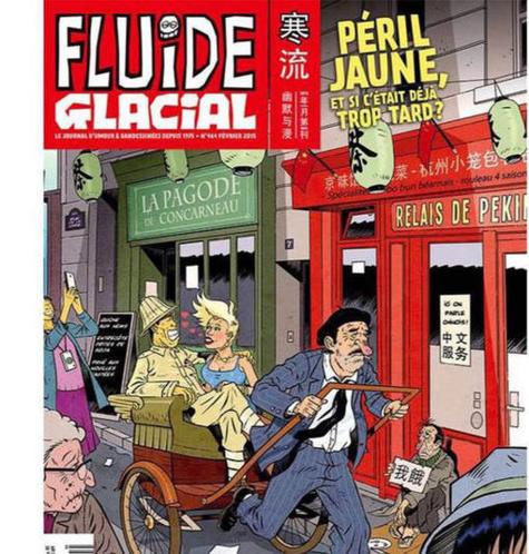 """La mode de la caricature : Fluide Glacial jugé """"indécent"""" en Chine"""