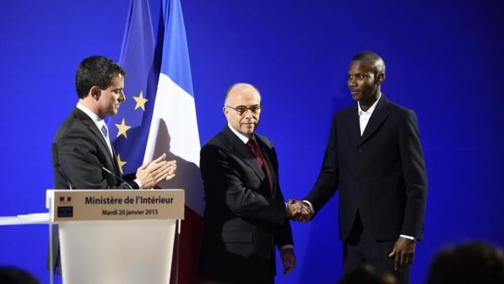 Lassana Bathily, naturalisé français pour acte de bravoure