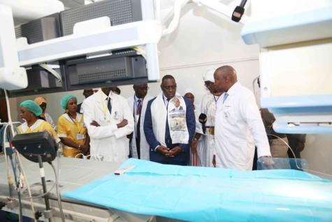 Modernisation de l'hôpital Aristide Le Dantec: Macky Sall promet une enveloppe de 85 milliards de FCFA