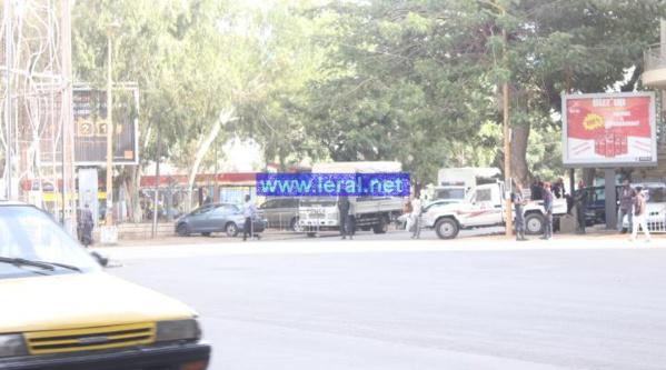 Sit-in devant le ministère de la Justice : Toussaint Manga et Marie Sow Ndiaye interpellés par la police