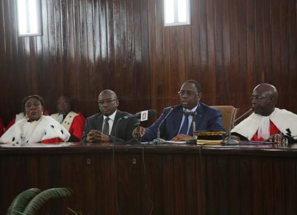 Etat de droit : Macky Sall s'engage à soutenir toutes les réformes