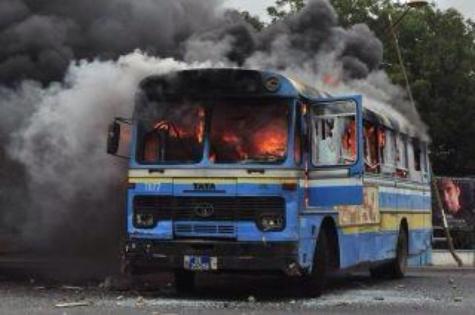 Affaire du bus DDD incendié devant l'UCAD: Filmé par les caméras du véhicule, un fils d'un dignitaire du PDS arrêté !