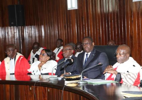 Intégralité du discours du Président Macky Sall lors de la Rentrée solennelle des cours et tribunaux