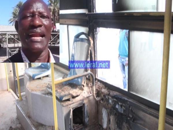 Audio - Incendie d'un bus de DDD : Assane Bâ, père du suspect arrêté, dément et parle de manipulation