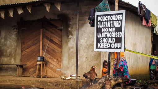 Ebola recule, fin de la quarantaine en Sierra Leone
