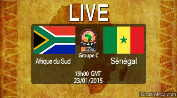 Suivez en Direct sur Leral.net le match Sénégal-Afrique du Sud (1-1)