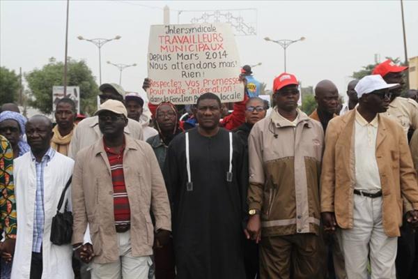 L'intersyndicale des travailleurs des collectivités locales suspend sa grève