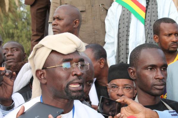"""Manifestation contre Charlie à la Place de l'Obélisque : """"Même si le Président Macky Sall était venu, il ne prendrait pas la parole"""", selon Sambou Biagui"""