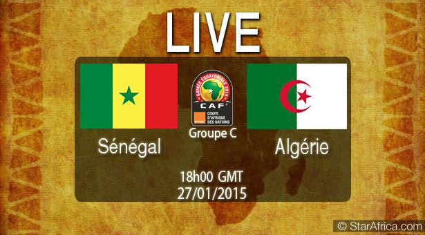 Suivez en Direct sur Leral.net le match Sénégal-Algérie (0-2)