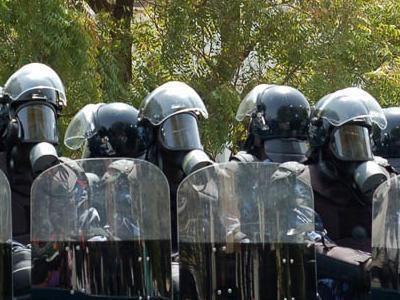 Meeting du Pds de ce vendredi: Un impressionnant dispositif policier quadrille la Place de l'Obélisque