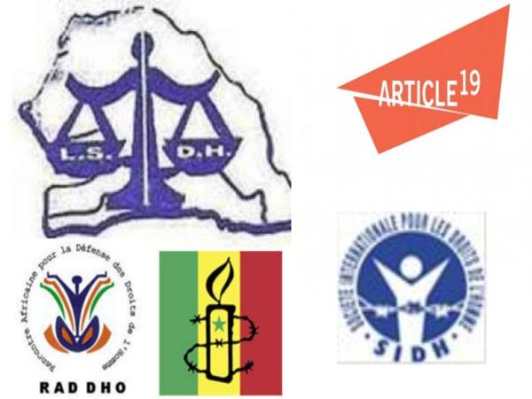 Interdictions de manifestations et arrestation d'opposants : Cinq Ong de défense de droits de l'homme condamnent et exigent la libération immédiate des personnes interpellées