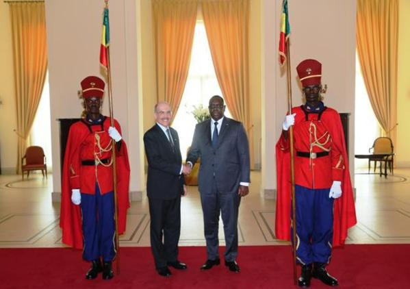 L'Ambassadeur James P. Zumwalt a présenté ses Lettres de Créances au Président Macky Sall