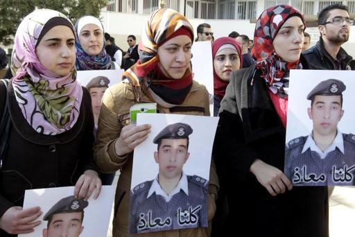La Jordanie exécute deux jihadistes après le meurtre de son pilote brûlé vif par l'EI