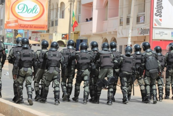 Marche du PDS aujourd'hui : Les forces de l'ordre en alerte maximale