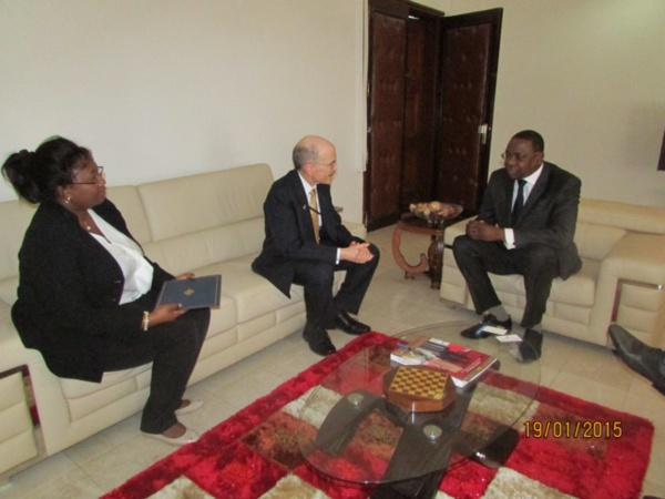 A Dakar depuis un mois: Le nouvel ambassadeur des Etats-Unis a présenté ses lettres de créances