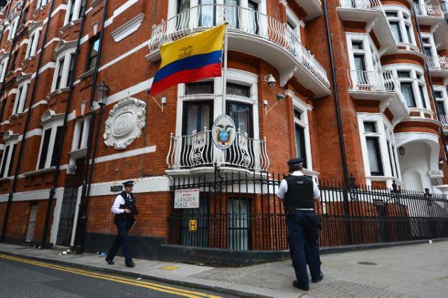 Surveiller Assange a déjà coûté l'équivalent de 39.000 nuits d'hôpital