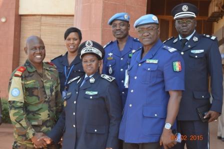 Anna Sémou Faye en mission commando au Mali