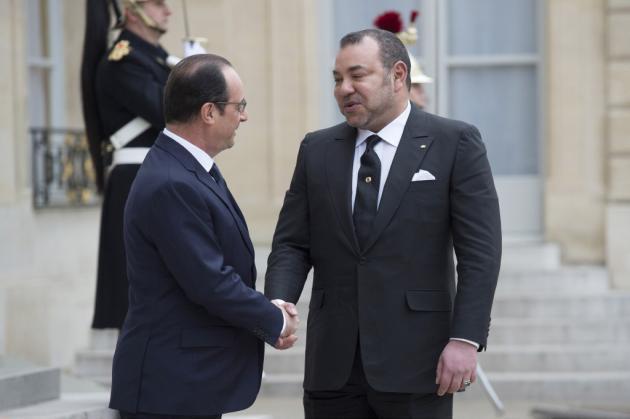 Hollande et Mohammed VI officialisent leur réconciliation
