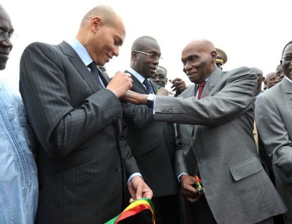"""Wade à Karim: """"En t'emprisonnant, ils t'ont mis dans le cœur des Sénégalais"""""""