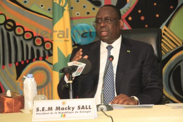 """Macky Sall: """"Ceux qui font croire que le Sénégal n'est pas un pays démocratique sont dans une autre planète"""""""