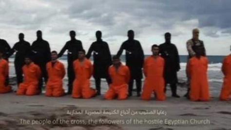 Décapitation de 21 chrétiens égyptiens en Libye par l'EI, l'Egypte réplique