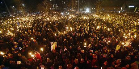 30 000 personnes rassemblées à Copenhague en hommage aux victimes des fusillades