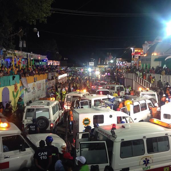 Le carnaval à Port-au-Prince tourne au drame : 15 morts