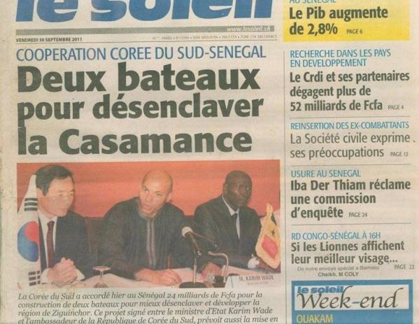 "Omar Faye, Leral Askan wi : ""Macky Sall est en train d'inaugurer les réalisations du prisonnier Karim"""