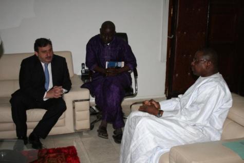 Diplomatie : Mankeur Ndiaye reçoit son homologue portugais