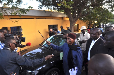 """Me Yérim Thiam: """"La maison d'Abdoulaye Wade n'a pas été mise dans le patrimoine de Karim Wade"""""""