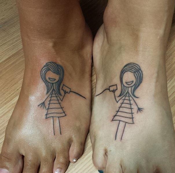 23 tatouages qui montrent à quel point les sœurs peuvent être fusionnelles !
