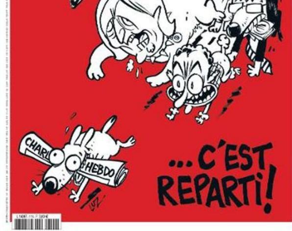 """Charlie Hebdo repart, avec une meute """"d'emmerdeurs"""" aux trousses"""