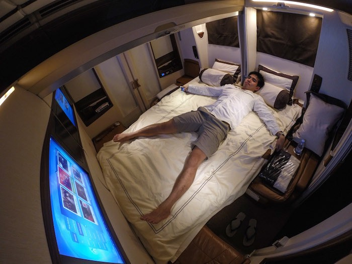 Voilà à quoi ressemble un vol Singapour-NY à 18 000 $ ! Pas de doute, vous allez aimer prendre l'avion...