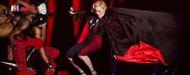 Brit Awards : la chute de Madonna