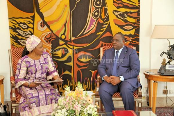 Audience au Palais: Macky Sall reçoit le ministre tchadien de l'agriculture, porteur d'un message de Déby