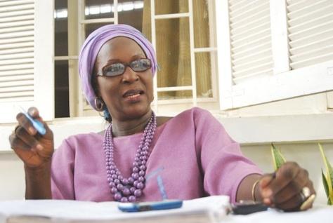 """Amsatou Sow Sidibé : """"Ce n'est pas en passant des journées entières à s'invectiver qu'on va réaliser l'émergence"""""""