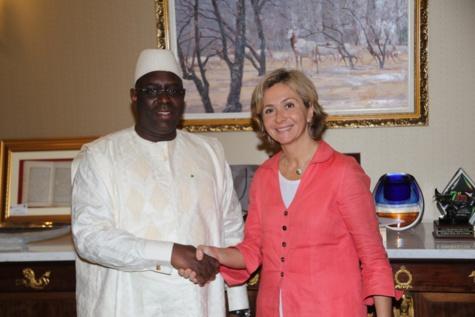 Valérie Pécresse reçue en audience par le président Macky Sall
