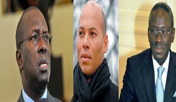 Candidats à la candidature au Pds, trois prétendants pour un fauteuil: Karim, Ndéné et  Habib ... en piste