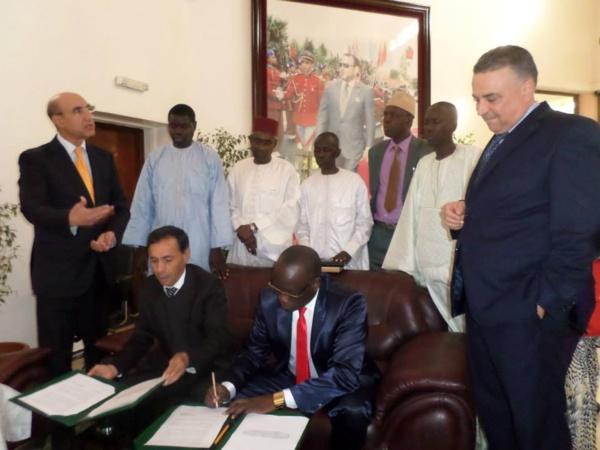 La Commune de Thiès-Est au Sénégal et le Conseil Provincial de Fquih Ben Salah au Maroc, ont signé un accord de partenariat pour entre autres objectifs