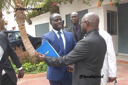 Les images de la visite de Malick Gackou à Abdoulaye Wade