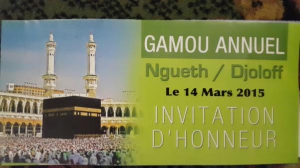 Le 14 mars prochain, Ngueth, foyer religieux, cristalliser toutes les attentions