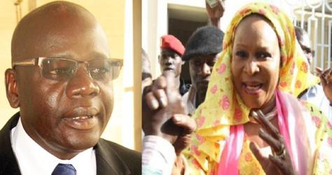 Maf de Liberté 6 : Emouvantes retrouvailles entre Me Djibril War et Aida Ndiongue