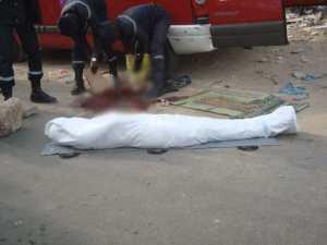 Accident à Tableau Tivaoune: Une femme décède, son bébé sain et chaud