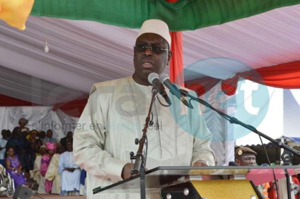 """Macky Sall à ses alliés de Macky2012 : """"Le pouvoir n'est pas un gâteau à partager"""""""