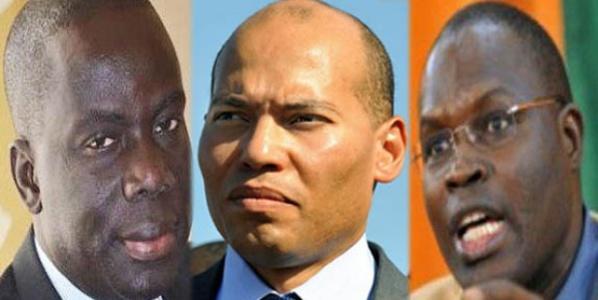 Présidentiele 2017: Vers une jonction entre Gakou, Karim et Khalifa?