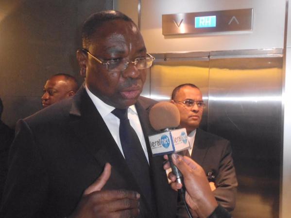 Le Ministre des Affaires étrangèet des Sénégalais  de l'Extérieur, Makeur Ndiaye à Charm El Sheik pour la Conférence sur la Consolidation et le Développement de l'Economie égyptienne
